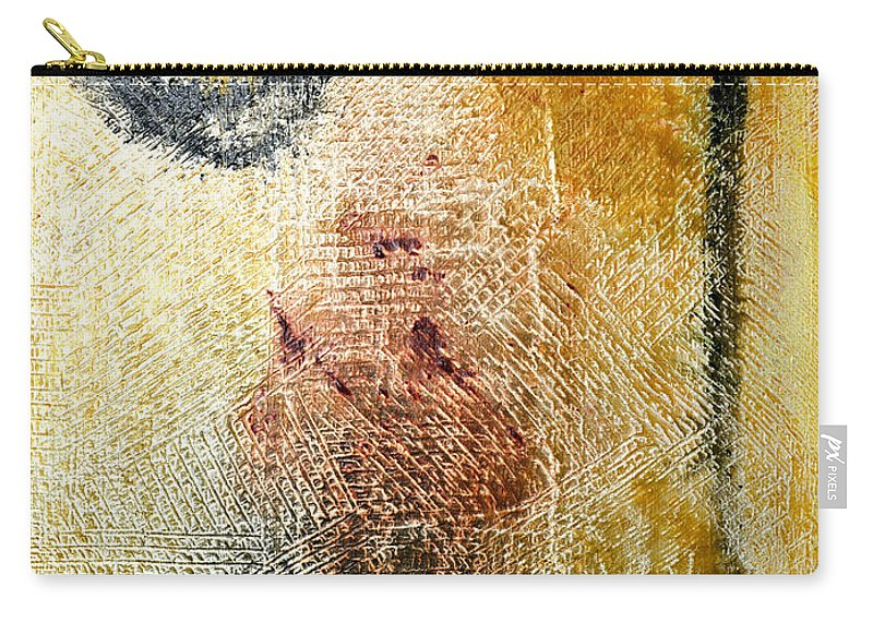 Don Quixote Carry-all Pouch featuring the painting Don Quixote - Dc Boutwell by Julie Niemela