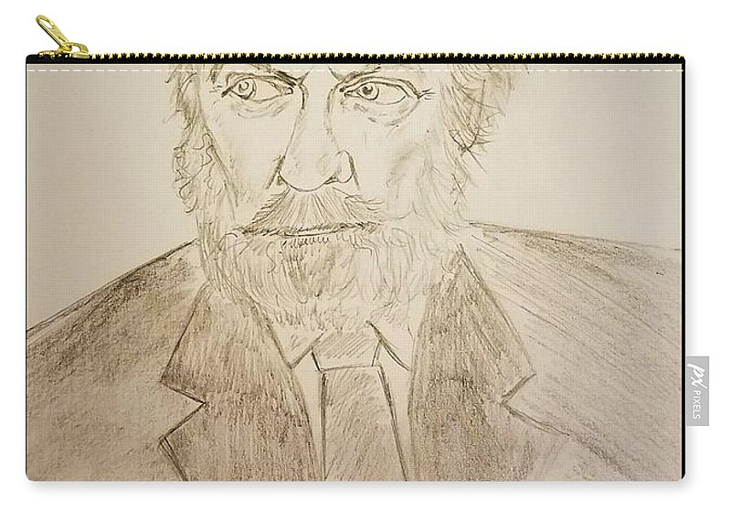 Donald Sutherland Carry-all Pouch featuring the photograph Donald Sutherland by Richard Howell