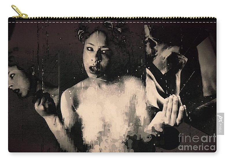 Carry-all Pouch featuring the photograph Don't Ask Me by Jessica Shelton