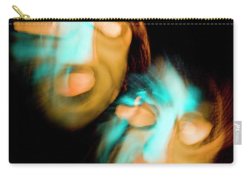 Color Carry-all Pouch featuring the photograph Don't Look Now by Frederic A Reinecke