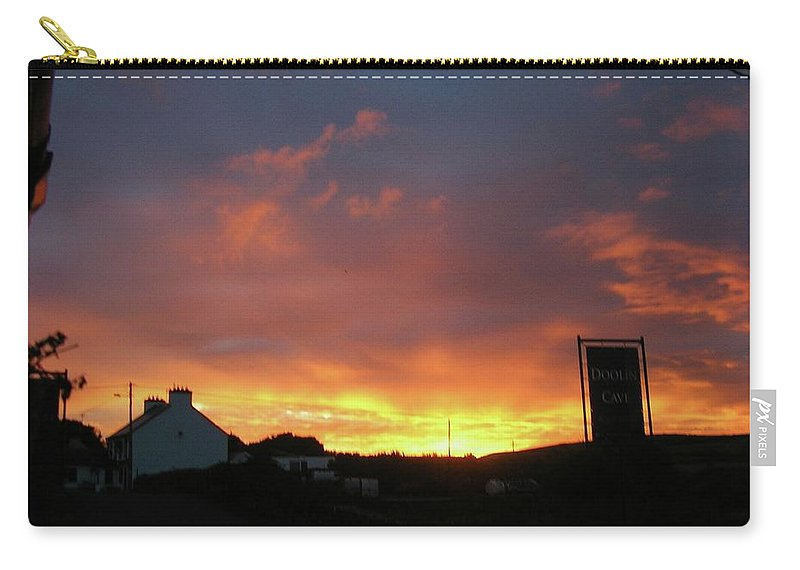 Landscape Carry-all Pouch featuring the photograph Doolin Co Clare Ireland by Louise Macarthur Art and Photography