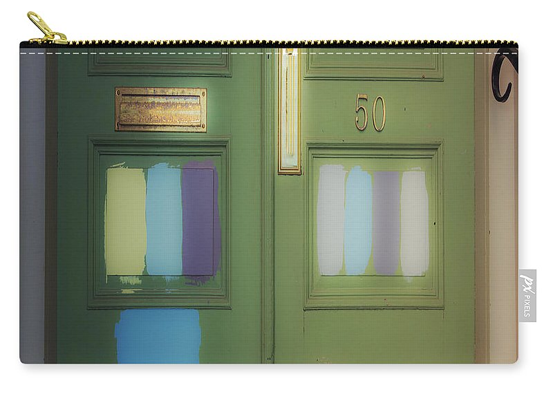 Door Carry-all Pouch featuring the photograph Door 50 by David Stone