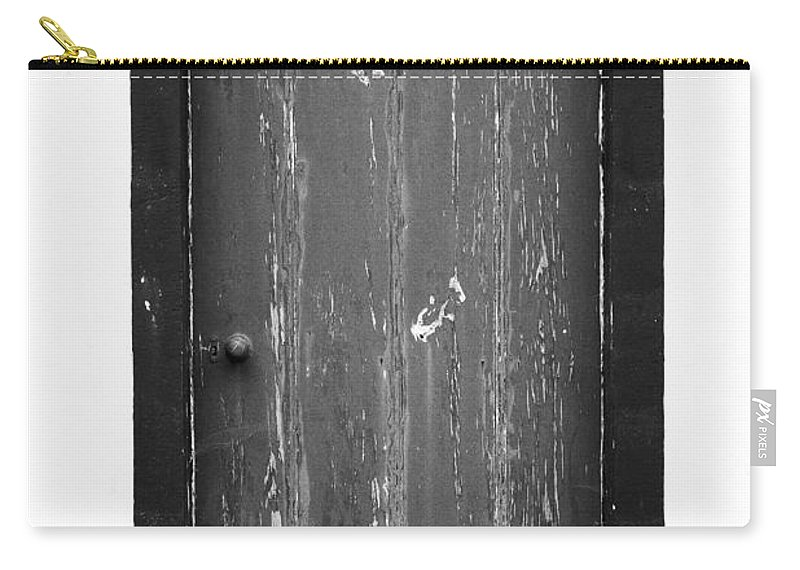 Closed Carry-all Pouch featuring the photograph Door by Gaspar Avila