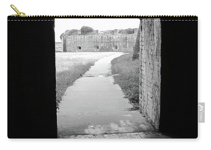 Doorway Carry-all Pouch featuring the photograph Doorway by Michelle Powell