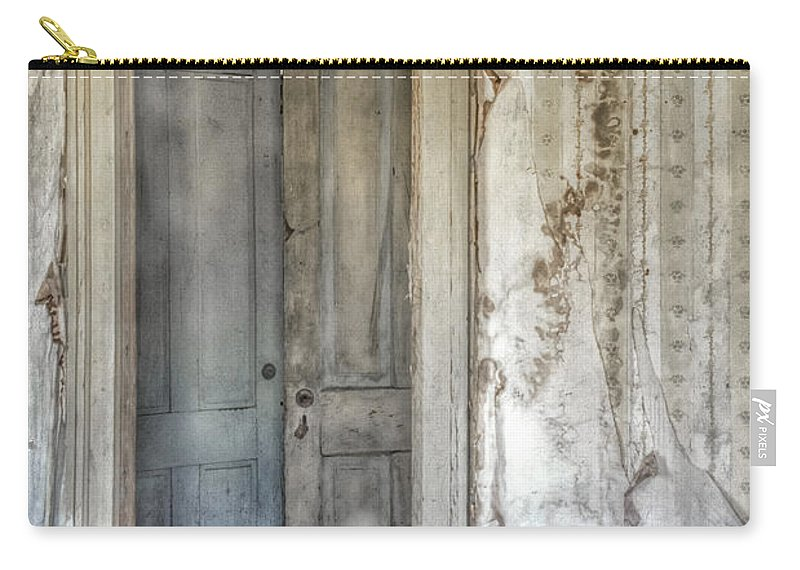 Foyer Carry-all Pouch featuring the photograph Doorway To Doors by Margie Hurwich