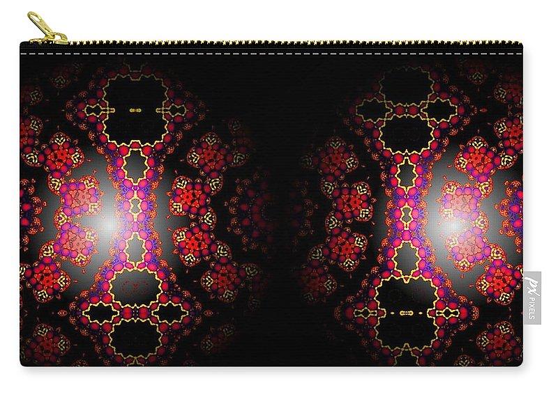 Sphere Carry-all Pouch featuring the digital art Dope by Robert Orinski