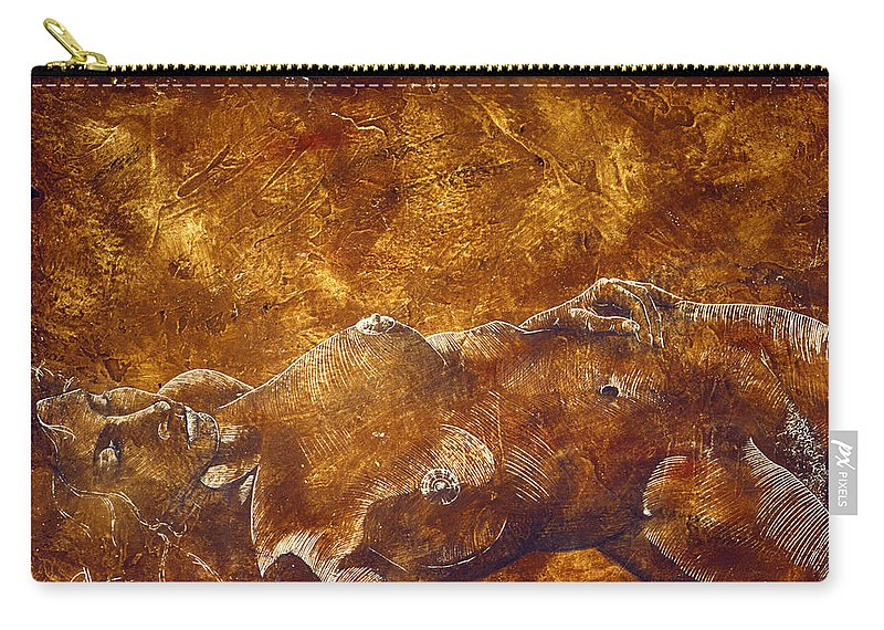 Nude Carry-all Pouch featuring the painting Dorothy Iv by Richard Hoedl