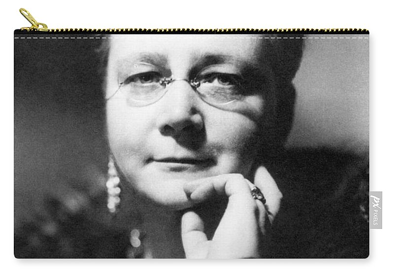 1938 Carry-all Pouch featuring the photograph Dorothy L Sayers by Granger