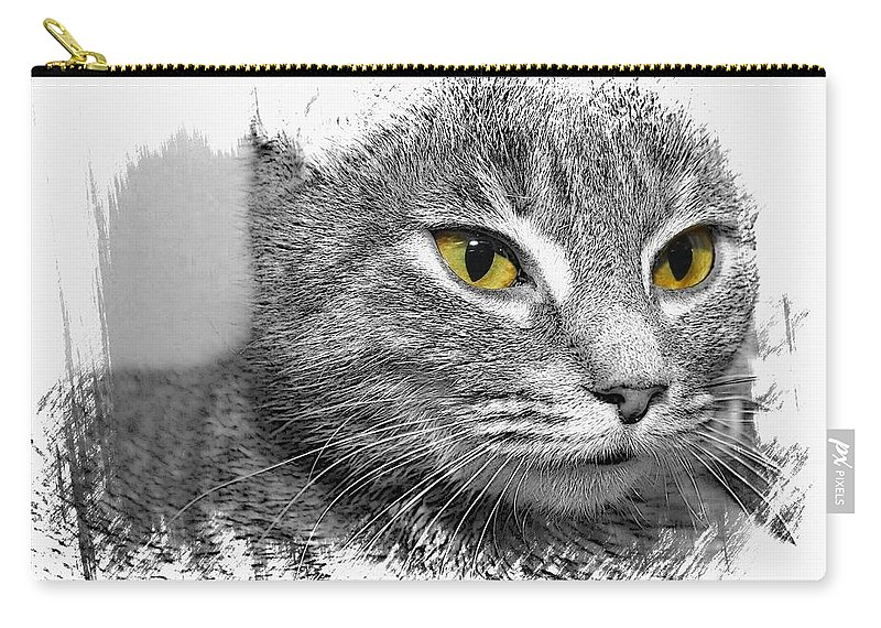 Cat Carry-all Pouch featuring the photograph Dory by Joyce Baldassarre