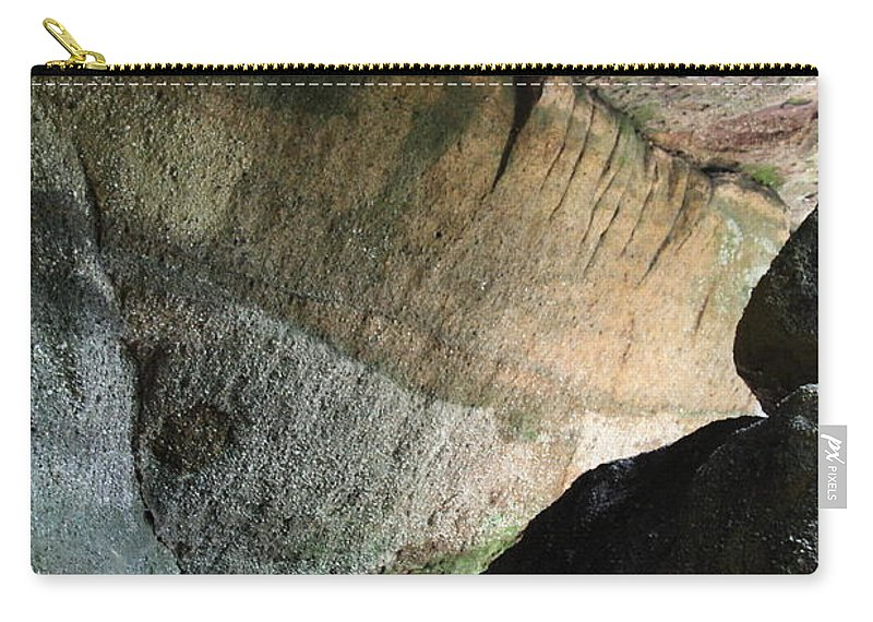Stone Carry-all Pouch featuring the photograph Dove In Flight by Amanda Barcon