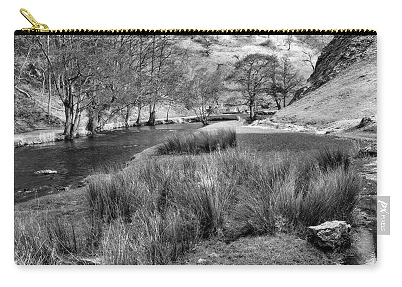 Dale Carry-all Pouch featuring the photograph Dovedale, Peak District UK by John Edwards