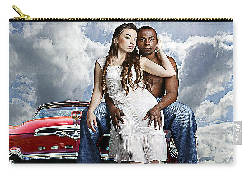 Auto Carry-all Pouch featuring the photograph Downtown by Jeff Burgess