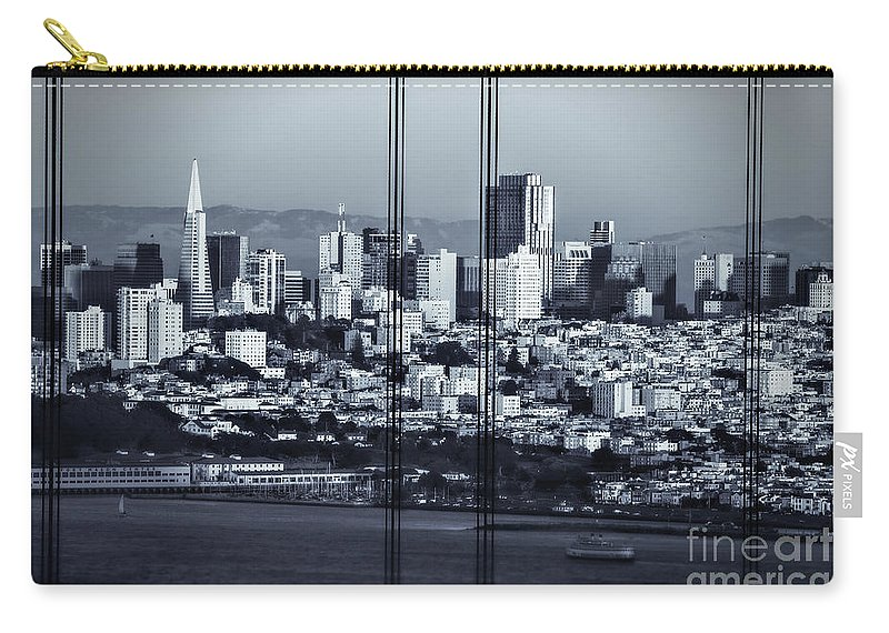 Sfo Carry-all Pouch featuring the photograph Downtown San Francisco by Doug Sturgess