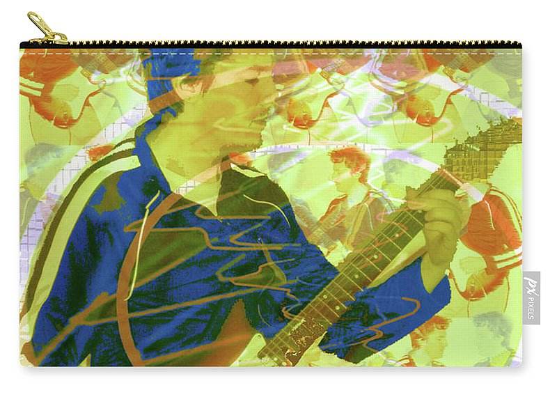 Dr. Guitar Carry-all Pouch featuring the photograph Dr. Guitar by Seth Weaver