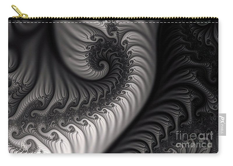 Clay Carry-all Pouch featuring the digital art Dragon Belly by Clayton Bruster