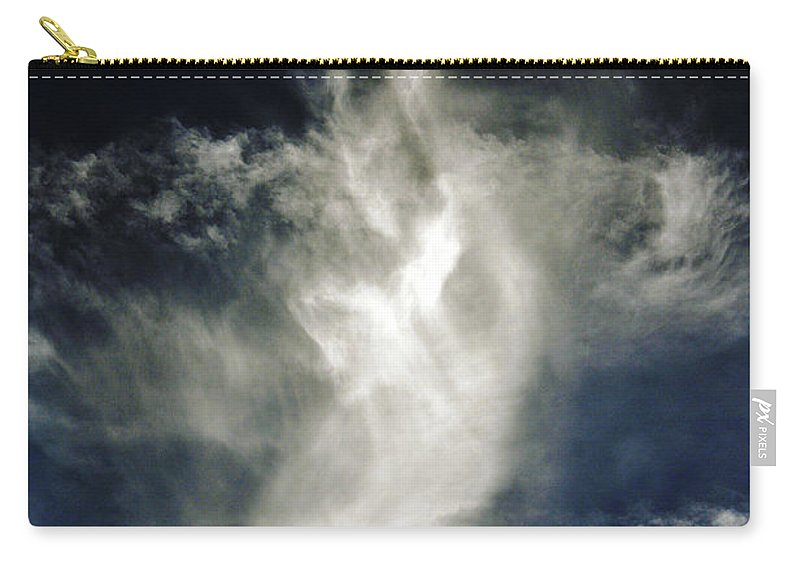 Clay Carry-all Pouch featuring the photograph Dragon Cloud by Clayton Bruster