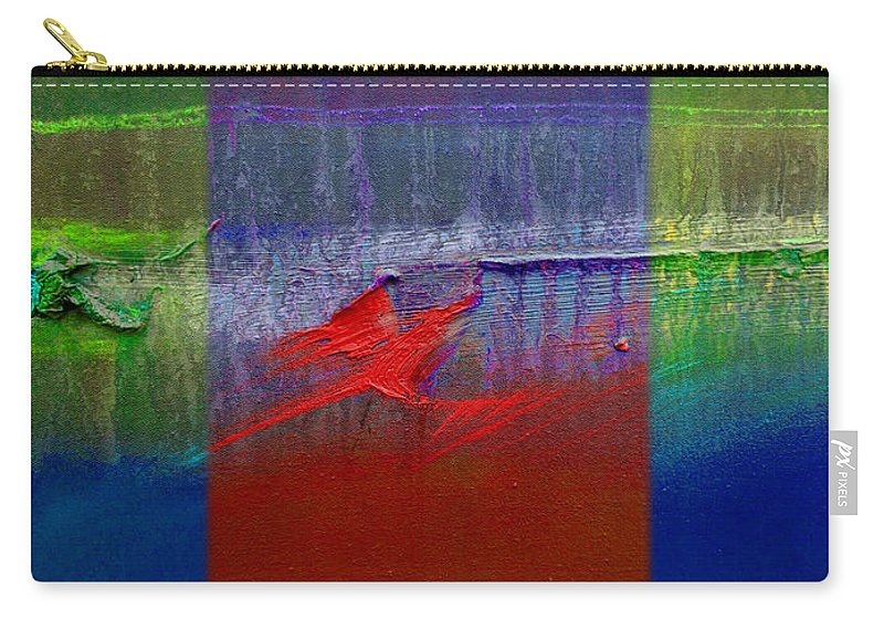 Landscape Carry-all Pouch featuring the painting Dragon Coast by Charles Stuart