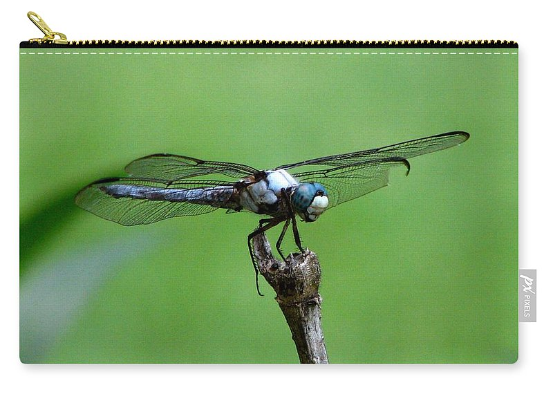Dragonfly Carry-all Pouch featuring the photograph Dragonfly 14 by J M Farris Photography