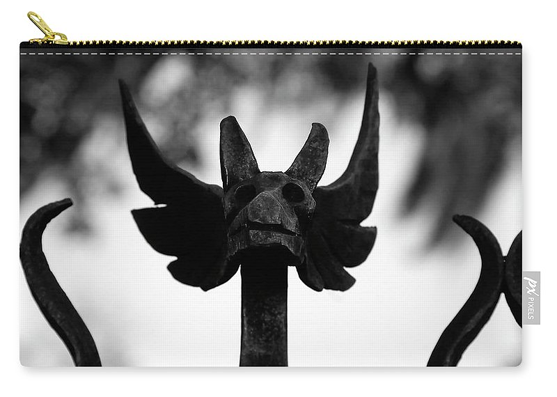 Fine Art Photography Carry-all Pouch featuring the photograph Dragons Gate by David Lee Thompson