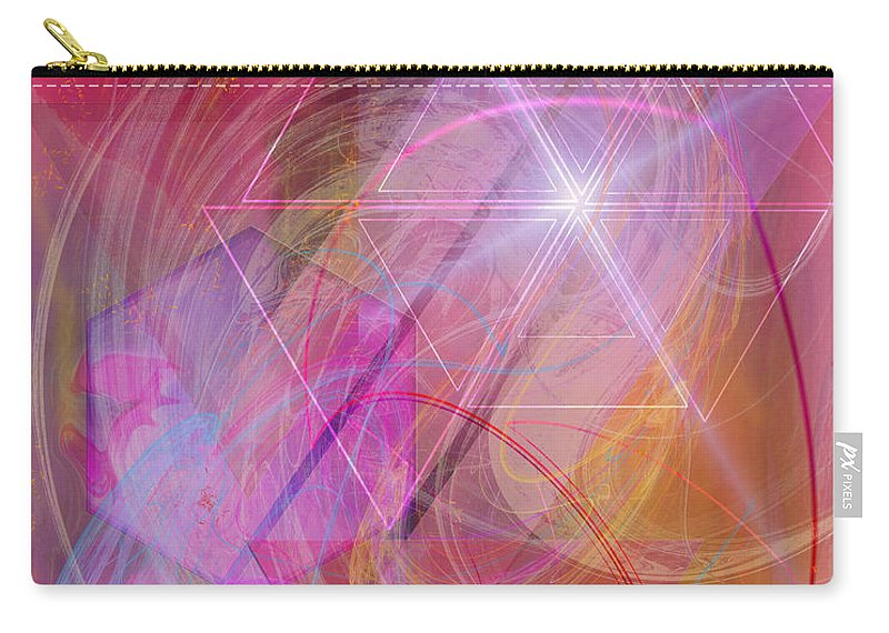Dragon's Gem Carry-all Pouch featuring the digital art Dragon's Gem by John Beck