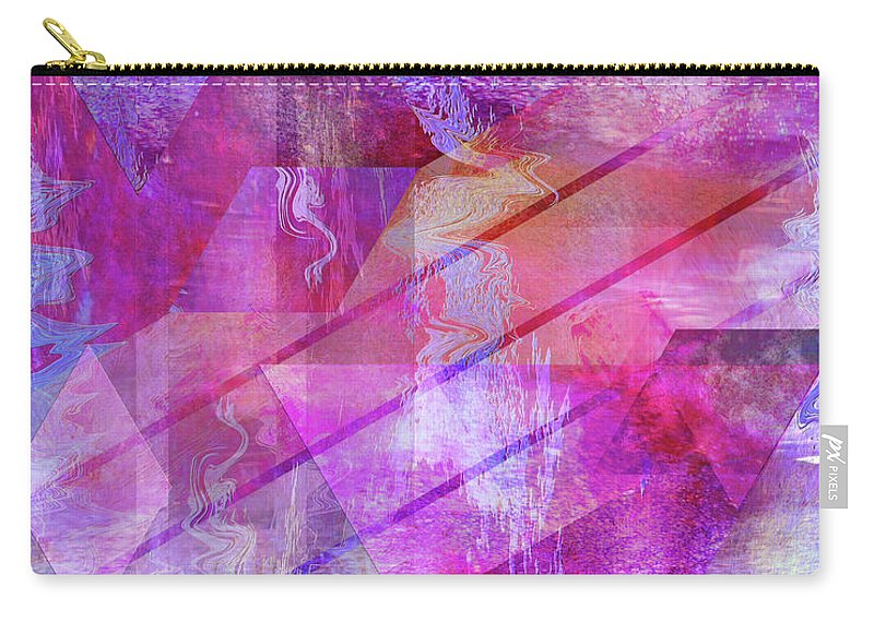 Dragon's Kiss Carry-all Pouch featuring the digital art Dragon's Kiss by John Beck