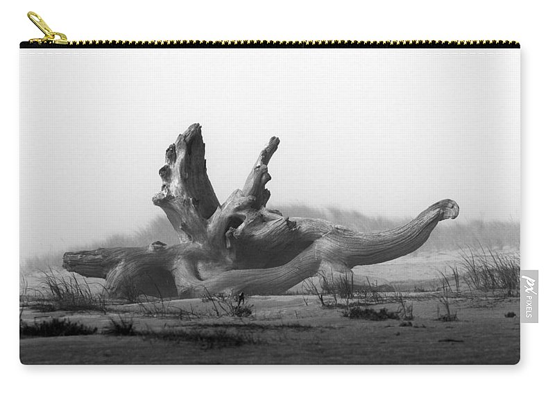 Dragon Carry-all Pouch featuring the photograph Dragonwood by Randall Ingalls