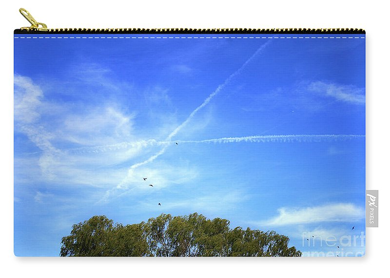 Landscape Carry-all Pouch featuring the photograph Dramatic Sky by Todd Blanchard