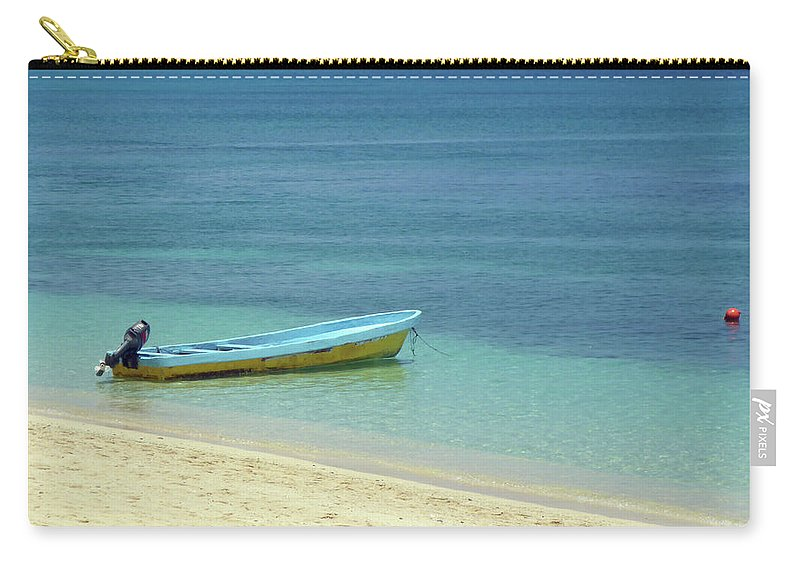 Beach Carry-all Pouch featuring the photograph South Pacific Dreams by Bruce