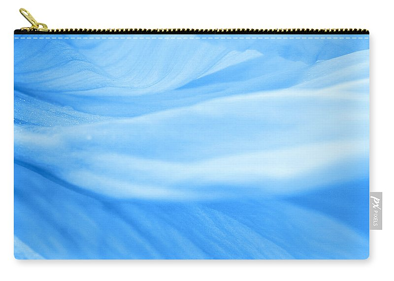 Poppy Carry-all Pouch featuring the photograph Dream Blue by Angela Doelling AD DESIGN Photo and PhotoArt