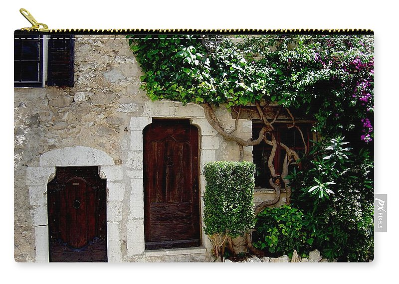 Italy European Home Doorways Carry-all Pouch featuring the photograph Dream On by Joanne Smoley