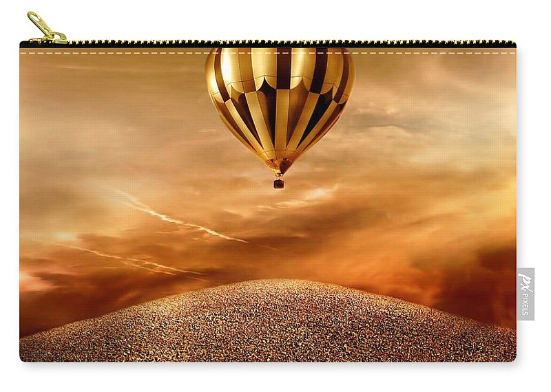 Golden Carry-all Pouch featuring the photograph Dream by Jacky Gerritsen