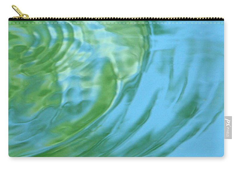 Water Carry-all Pouch featuring the photograph Dream Pool by Donna Blackhall