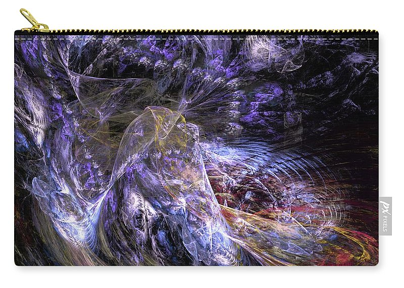 Digital Painting Carry-all Pouch featuring the digital art Dream Scene by David Lane