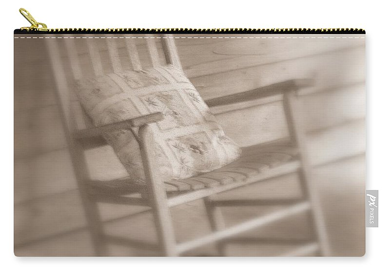 Chair Carry-all Pouch featuring the photograph Dream Time by Susanne Van Hulst