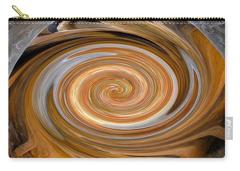 Hopi Carry-all Pouch featuring the painting Dreaming In Hopi Land by David Lee Thompson
