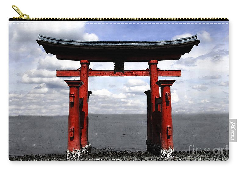Japan Carry-all Pouch featuring the photograph Dreaming In Japan by David Lee Thompson