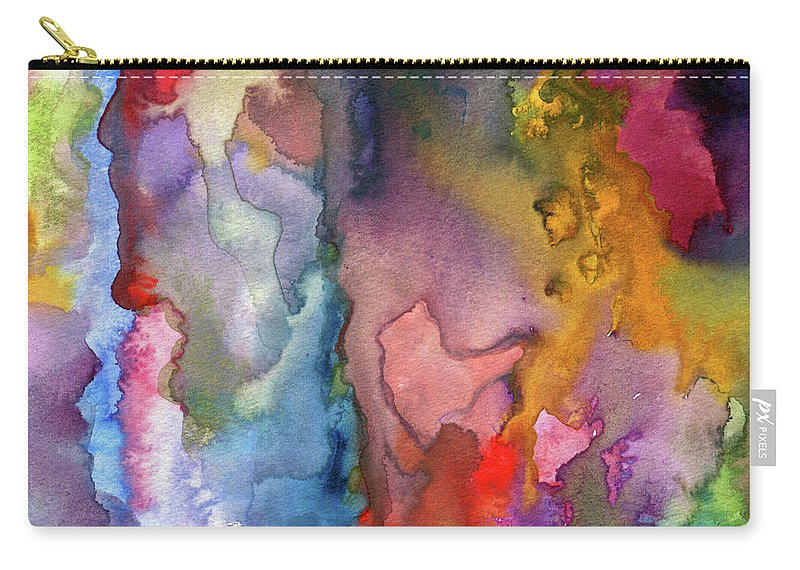 Painting Carry-all Pouch featuring the painting Dreams by Ceil Diskin