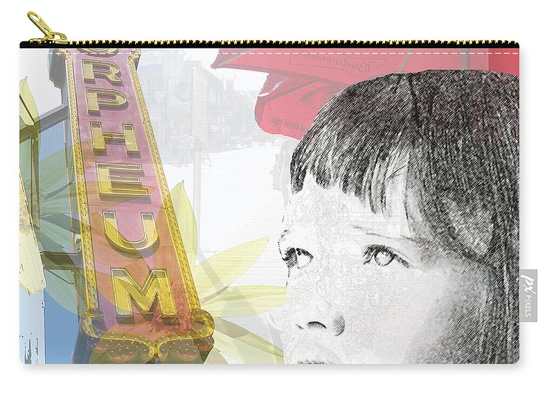 Memphis Carry-all Pouch featuring the photograph Dreams Of Memphis by Amanda Barcon