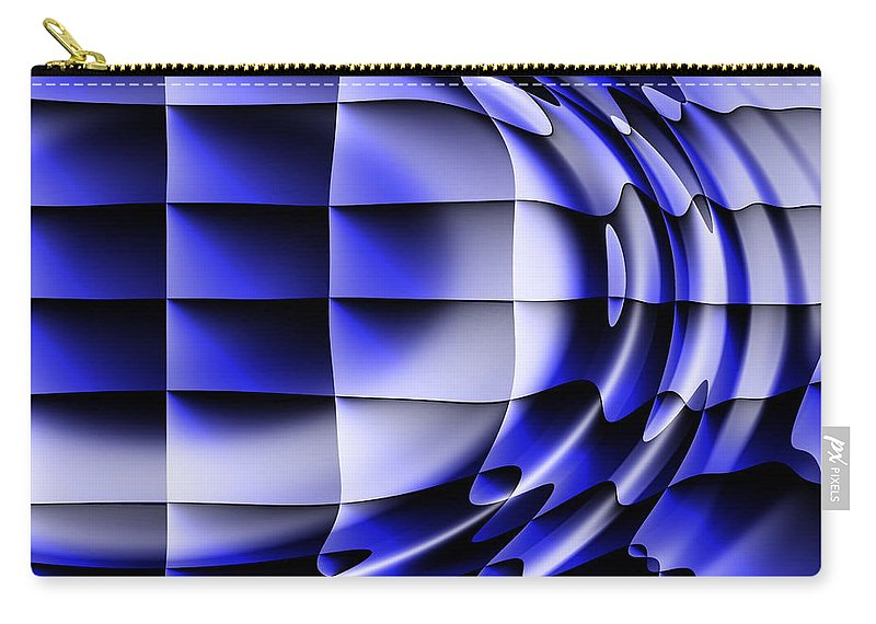 Squares Carry-all Pouch featuring the digital art Dreams by Robert Orinski