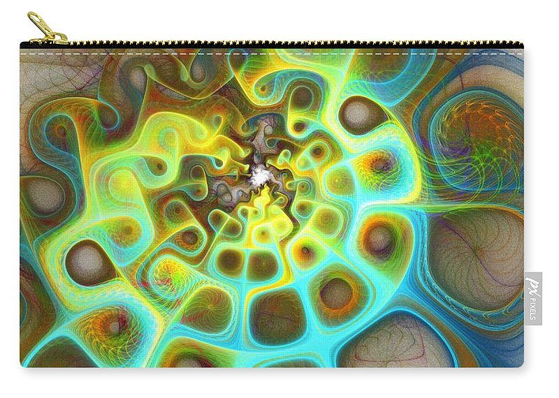 Digital Art Carry-all Pouch featuring the digital art Dreamscapes by Amanda Moore