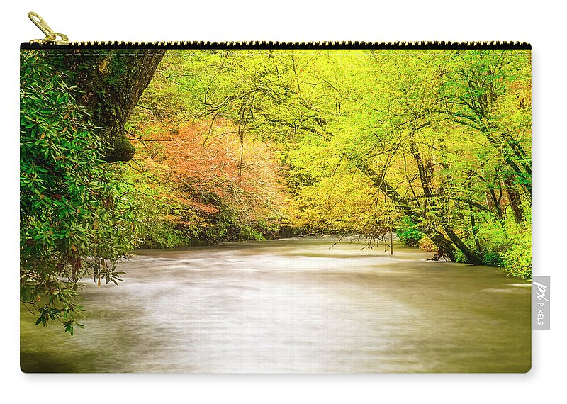 Stream Carry-all Pouch featuring the photograph Dreamy Days by Andy Crawford