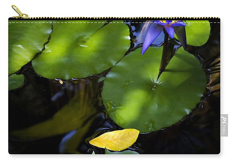 Lotus Carry-all Pouch featuring the photograph Dreamy Lotus by Marilyn Hunt