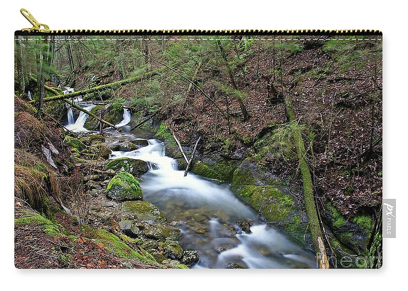 River Carry-all Pouch featuring the photograph Dreamy Passage by Cj Mainor
