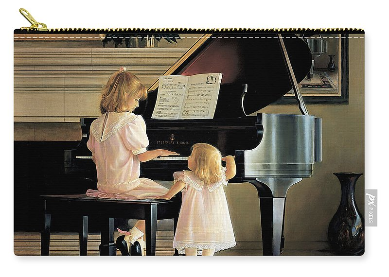 Piano Carry-all Pouch featuring the painting Dress Rehearsal by Greg Olsen