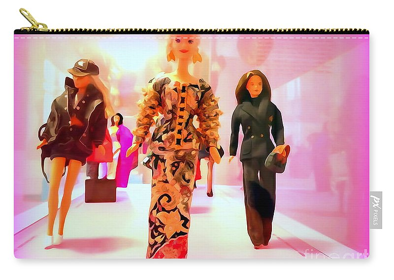 Mannequins Carry-all Pouch featuring the photograph Dressed For Success by Ed Weidman