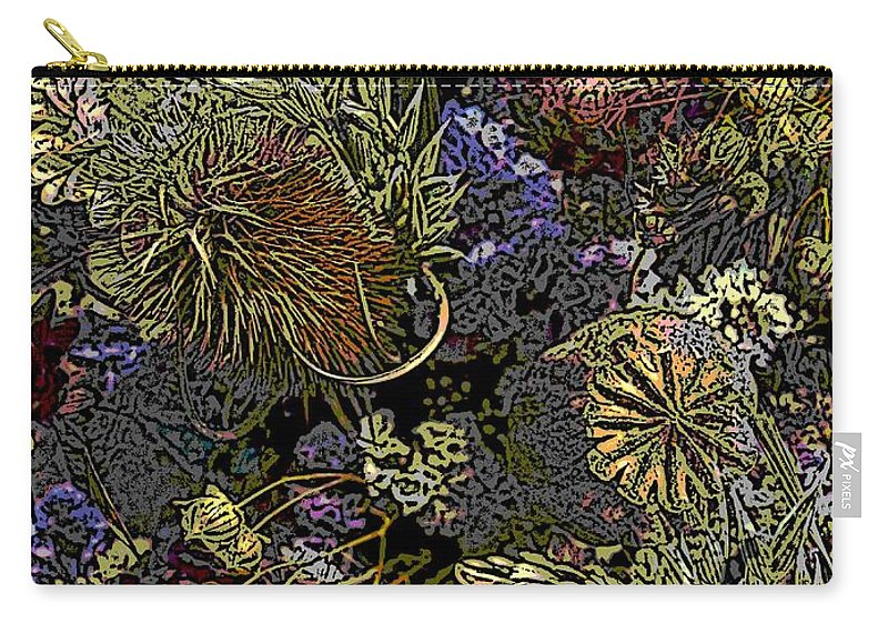 Dried Carry-all Pouch featuring the digital art Dried Delight by Tim Allen