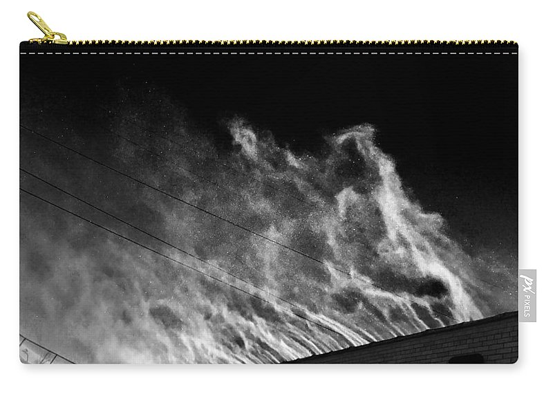 Snow Carry-all Pouch featuring the photograph Drift #4 by Julian Grant