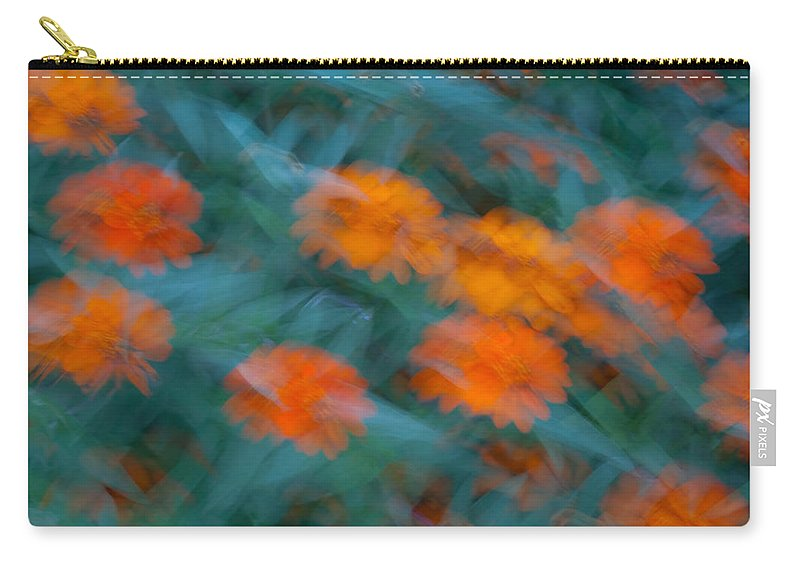 Drifting Carry-all Pouch featuring the photograph Drifting Daisies by Douglas Barnett