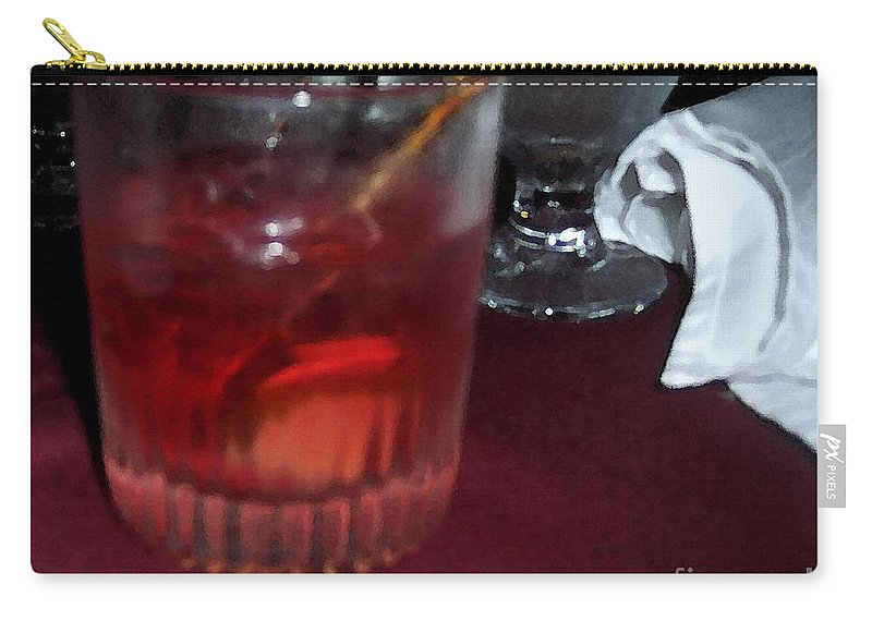 Drinks Carry-all Pouch featuring the photograph Drink Up by Debbi Granruth