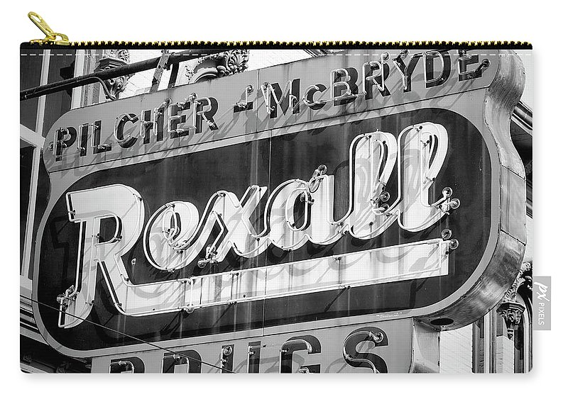 Selma Carry-all Pouch featuring the photograph Drug Store #2 by Stephen Stookey